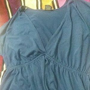 A beautiful royal blue summer dress